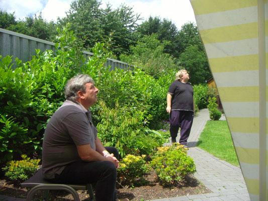Jürgen und Peter am 23.06.2012