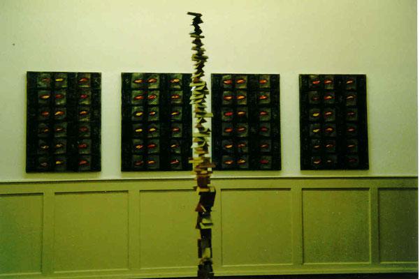 Kunsthaus Langenthal – Museum – Pedro Meier Ausstellung – Oberaargauer Künstler – »Bilder und Skulpturen« – VISARTE Schweiz – Visarte Solothurn – Atelier Niederbipp und Thailand – Foto © Pedro Meier Multimedia Artist / ProLitteris