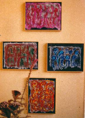 Galerie Kornhaus Herzogenbuchsee – Ausstellung Pedro Meier »Unrast zur Unzeit« 2001 – »Thailand« – (nach dem Atelierbrand in Roggwil-Wynau, Gugelmann Areal) – VISARTE Schweiz Solothurn – Ateliers in Niederbipp & Thailand © Pedro Meier Multimedia Art