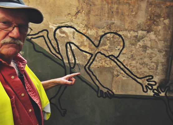 Pedro Meier PhotoArt – trifft auf Graffiti Maja Kopp – ArtCampus Switzerland – »Selfie-Art-Project« – Photo 2016 © Pedro Meier Multimedia Artist / ProLitteris – Niederbipp – Bangkok