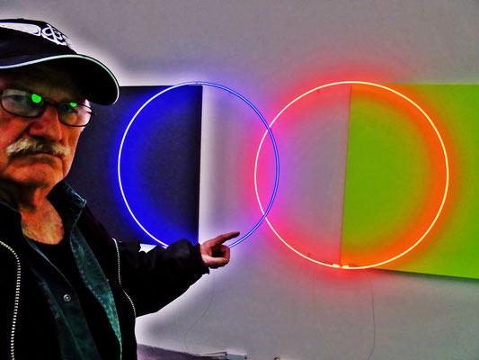 Pedro Meier – Lichtkunst – Light Installations – »Selfie-Art-Project« – Photo 2016 © Pedro Meier Multimedia Artist / ProLitteris – Niederbipp – Bangkok