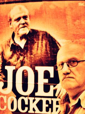 Pedro Meier PhotoArt– Konzert – Pedro Meier trifft Joe Cocker – Berlin um 1989 – »Selfie-Art-Project« – Photo © Pedro Meier Multimedia Artist / ProLitteris – Niederbipp – Bangkok