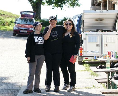 Christian, Yelda und ich