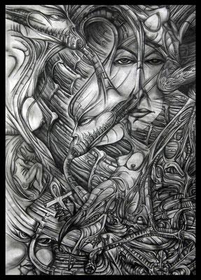 Leben (Bleistift auf Papier)