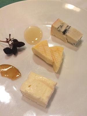 チーズ盛り合せ
