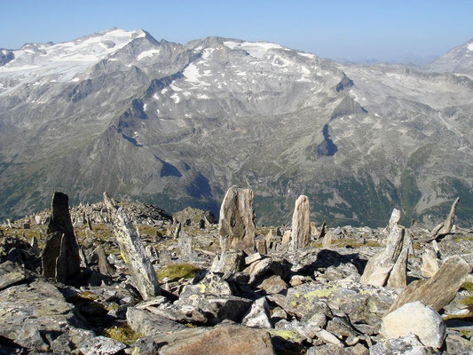 Blick vom Großen Hafner zur Hochalmspitze