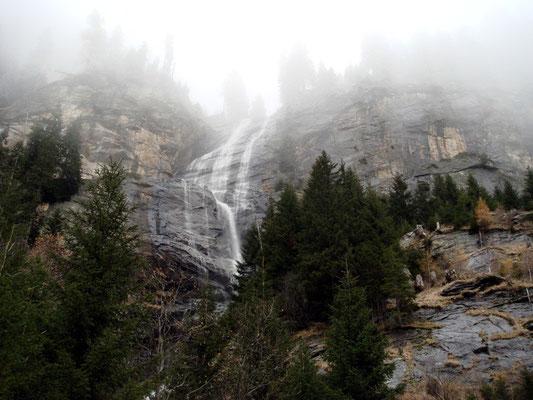 Wassermassen am hinteren Maralmfall