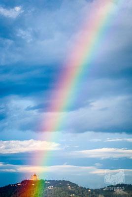 09 - Arcobaleno sulla collina di Superga dopo un temporale estivo