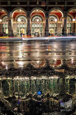 25 - Porta Nuova sotto la pioggia
