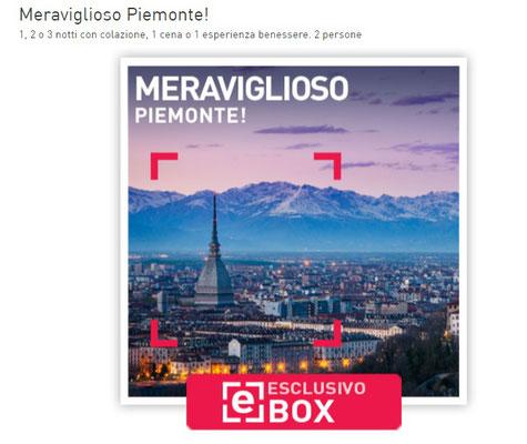 Cofanetto Smartbox Piemonte