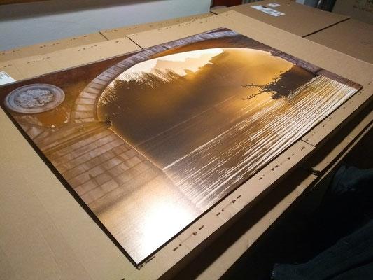 Aluminio 90cm x 60cm