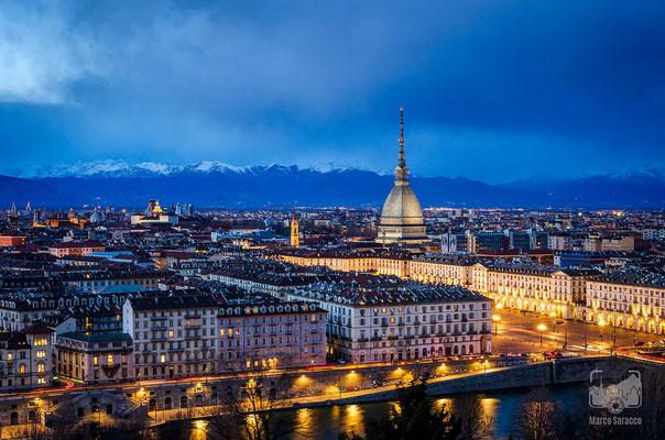 12 - La classica vista sulla città dal Monte dei Cappuccini