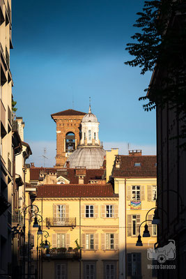 44 - Tramonto sui palazzi di Piazza Arbarello