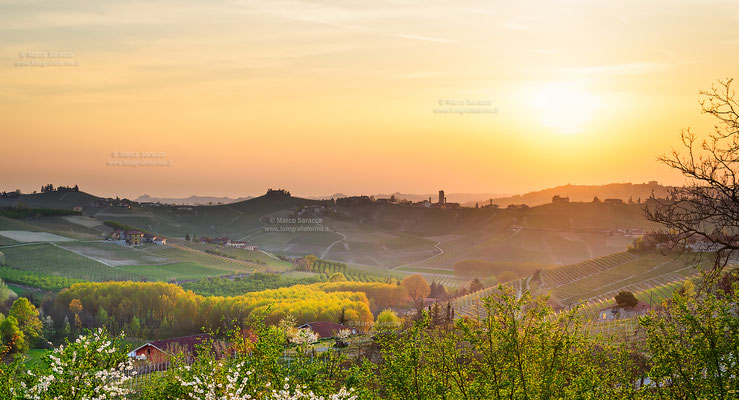 8 - Tramonto sulle Langhe