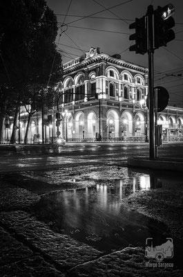 06 - La stazione di Porta Nuova dopo un temporale estivo