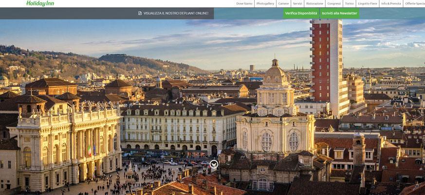 Copertina pagina web Holiday Inn Torino