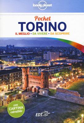 """Copertina Guida della Lonely Planet """"Torino pocket"""""""