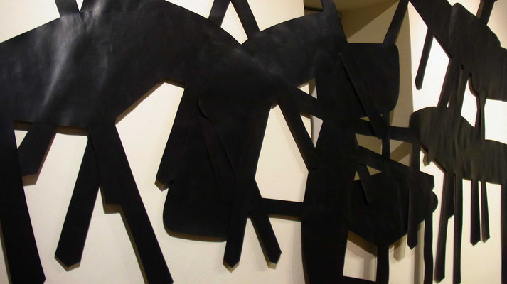 happening, cut-out, Detail, 2011