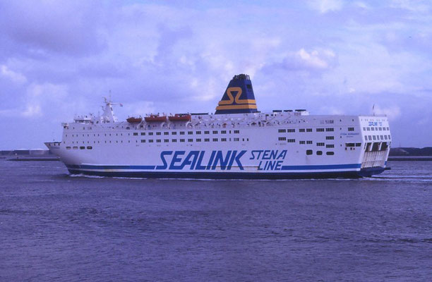 Stena Normandy (1991-1992/Sealink Stena Line/Cherbourg(F)-Southampton(UK))