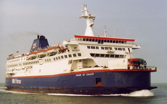 Pride of Dover/Calais (1998-1999/P&O-Stena)