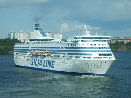 Silja Serenade à Stockholm (© lebateaublog-Dany C. 2011)