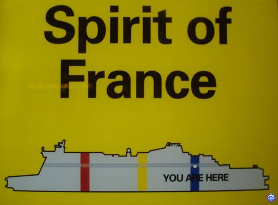 Vous êtes ici sur le Spirit of France (© lebateaublog 2012)