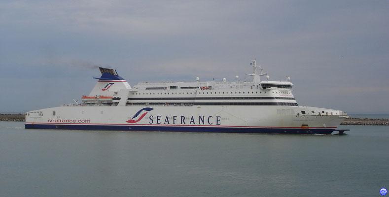 Seafrance Molière (© lebateaublog 2011)