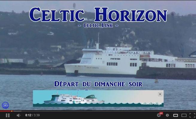 Celtic Horizon à Cherbourg le 17 Mars 2013. Visionnage de contrôle après mise en ligne...