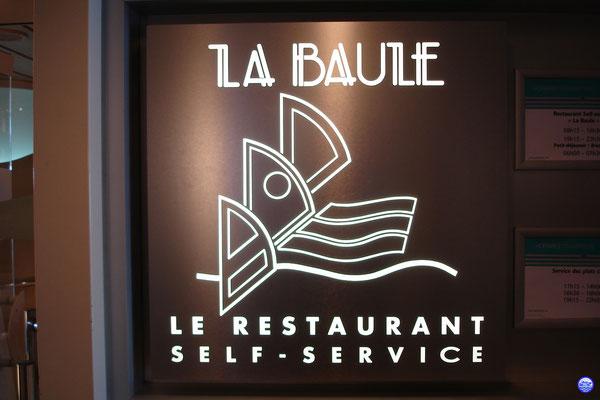 Bretagne Pont 7 - La Baule, le restaurant self service. (© lebateaublog 2012)