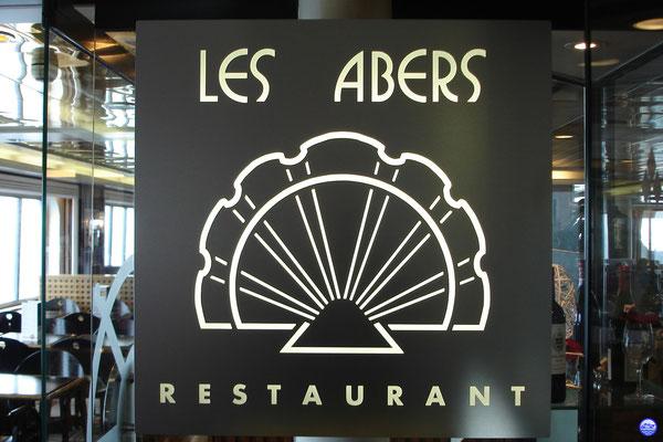 Bretagne Pont 7 - Les Abers : le restaurant à la carte. (© lebateaublog 2012)