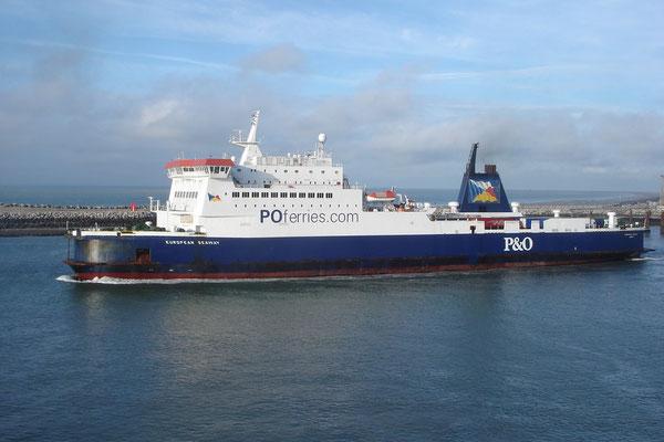 European Seaway à Calais (© lebateaublog 2011)