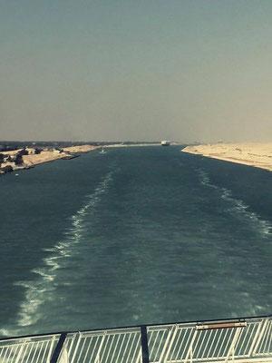 Silja Europa dans le canal de suez