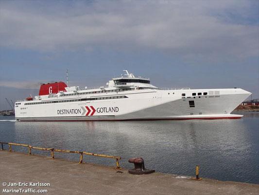 Gotlandia II 2006 122m/16,60m/6554GT/40n/160vl/900p
