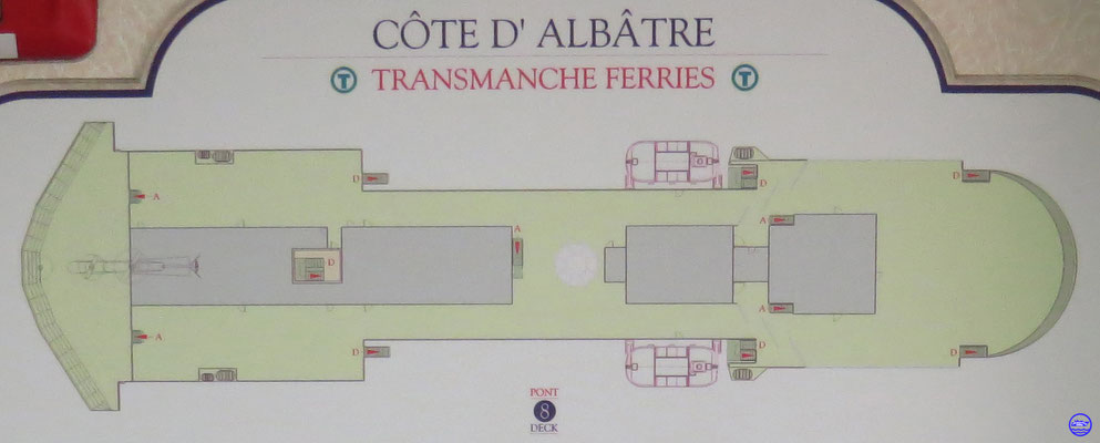 Pont 8 Côte d'Albâtre