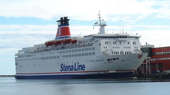 Stena Danica docking at Frederikshavn(DK)