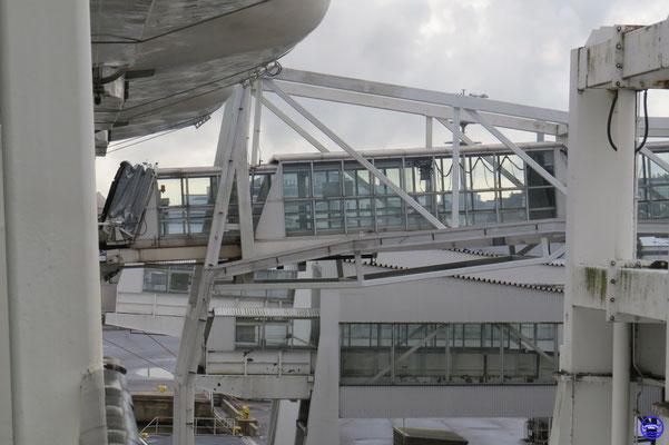 La passerelle de Silja Europa est toujours là.