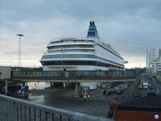 En mer Baltique avec le 2nd Capitaine... (© lebateaublog 2012-Dany C.)