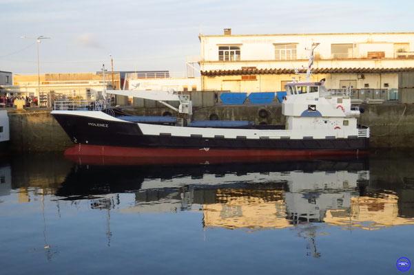 Molenez - Brest-Sein/Molène/Ouessant (36mx8m-12,5nds-52containers-2000) ©lebateaublog 2019