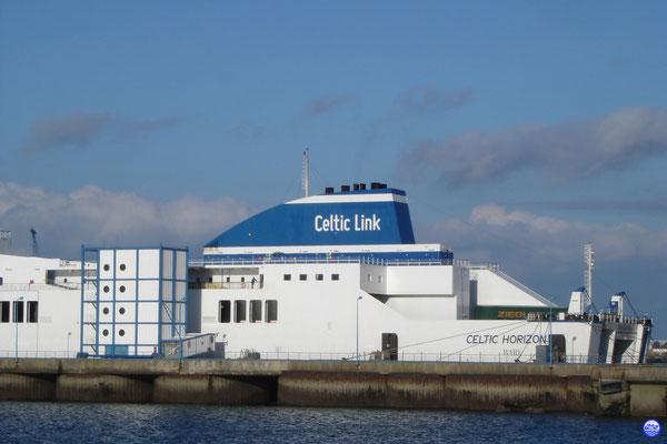 Celtic Horizon à Cherbourg le 17 Mars 2013. (© lebateaublog 2013)