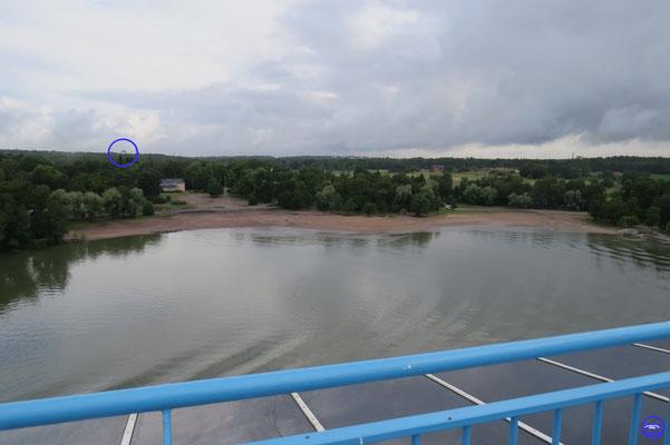Les chantiers Meyer Turku anciennement STX dans le cercle bleu