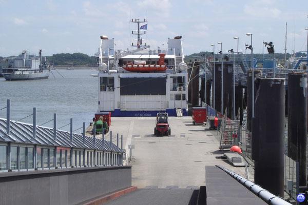 Ile de Groix à Lorient (© lebateaublog 2013)
