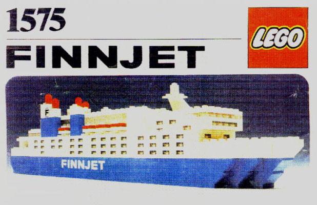 FINNJET: coque 407 et boite LEGO 1575