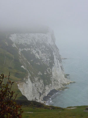 On ze White Cliffs of Dover (©lebateaublog2011-Mu.L)