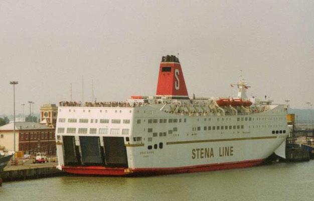 Stena Europe (1994-1997/Stena Line/Fishguard(UK)-Rosslare(IRL)