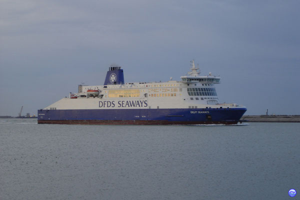 Delft-Dover-Dunkerque Seaways / Dunkerque-Douvres (© lebateaublog 2012)