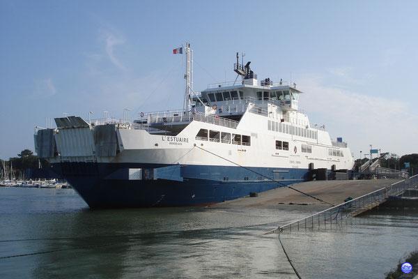 Embarcadère de Port-Bloc / Le Verdon (© lebateaublog 2013)