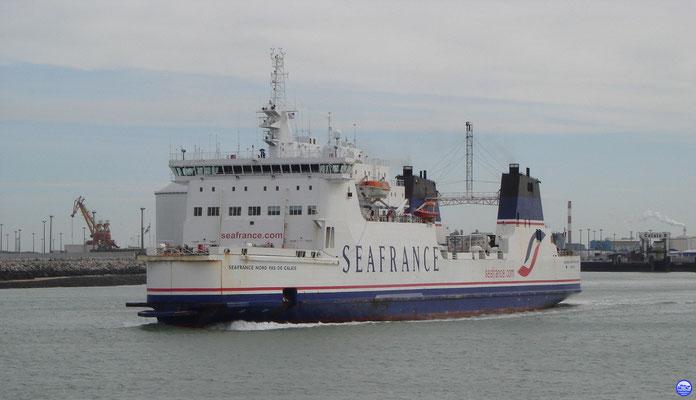 Seafrance Nord Pas-de-Calais (© lebateaublog 2010)