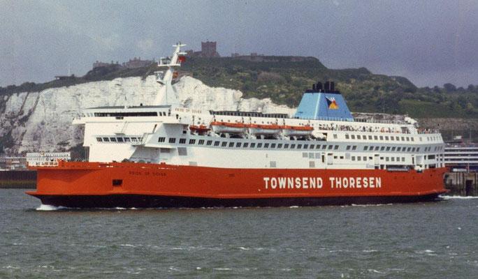 Pride of Dover/Calais (1987/Townsend Thoresen)