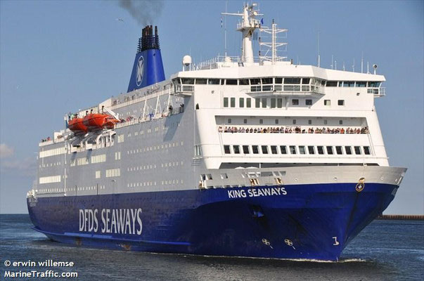 King Seaways (ex Val de Loire) / Amsterdam-Newscastle