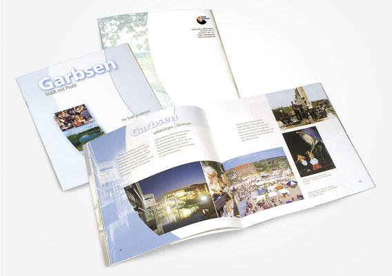 Kunde Stadt Garbsen – Imagebroschüre